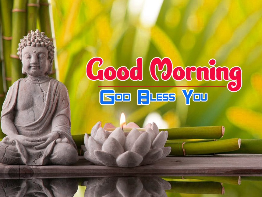 Free Latest Full HD Buddha Good Morning Images Pics Download