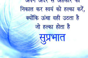 Hindi Good Morning Quotes Images 3