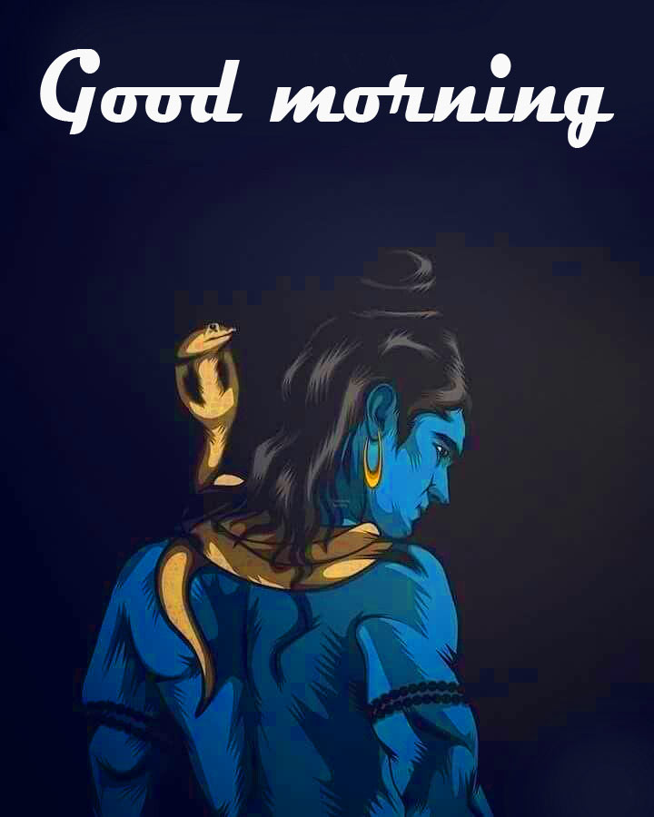 Lord Shiva God Good Morning Images