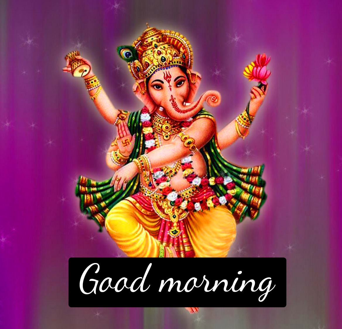 God Ganesha good morning Images Pics