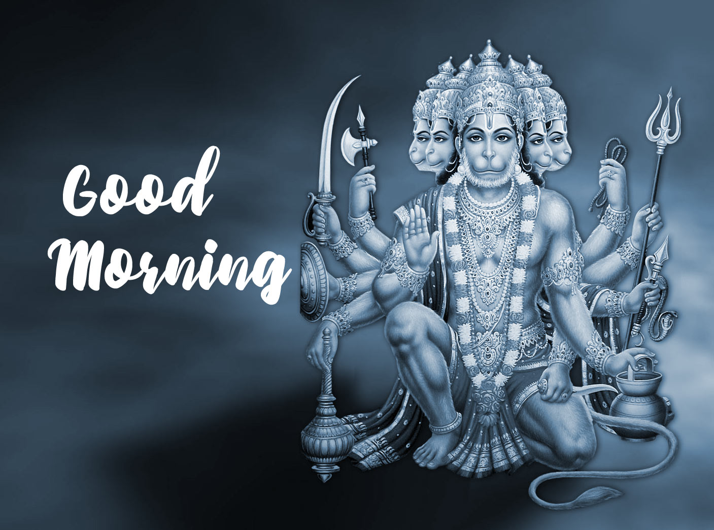 Bajranj Bali God Good Morning Images Pics