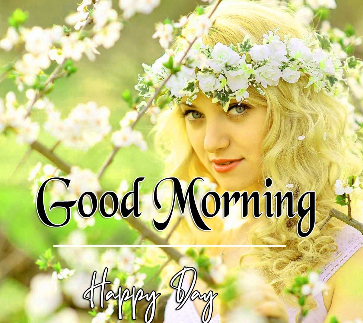 Beautiful Girl Good Morning Images 2