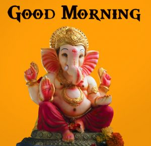 Best New Lord Ganesha Good Mornign Wishes Pics Pictures Download