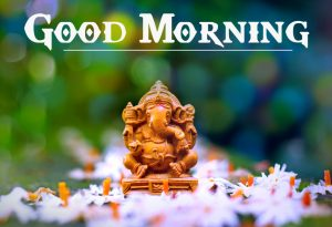 Free 2021 Lord Ganesha Good Mornign Wishes Pics Images Free