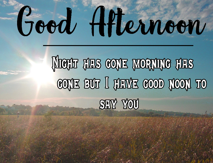 Beautiful Good Afternoon Images Pics With Quotes