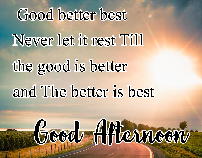 Beautiful Good Afternoon Images Wallpaper Download