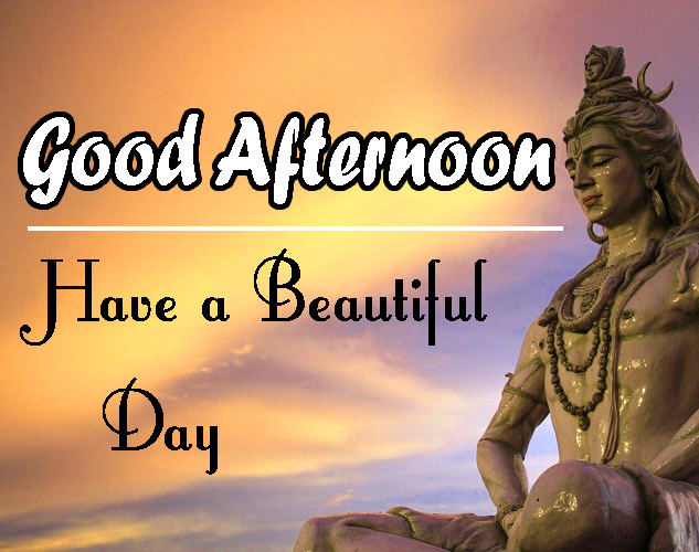 Beautiful Good Afternoon Images Wallpaper Pics With Lord Shiva