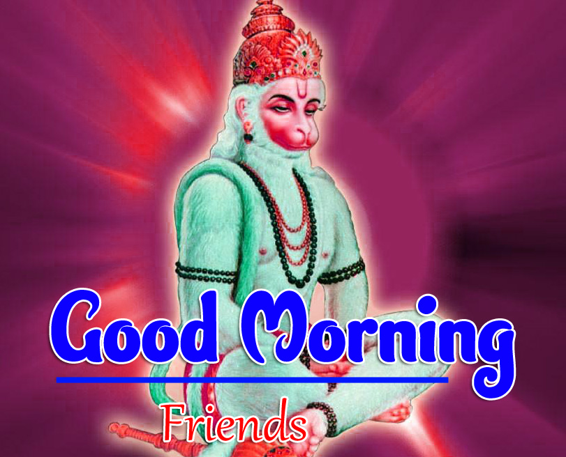 Jai Hanuman Ji Good Morning Images 1