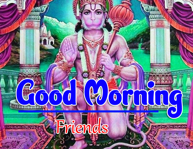 Jai Hanuman Ji Good Morning Images 2