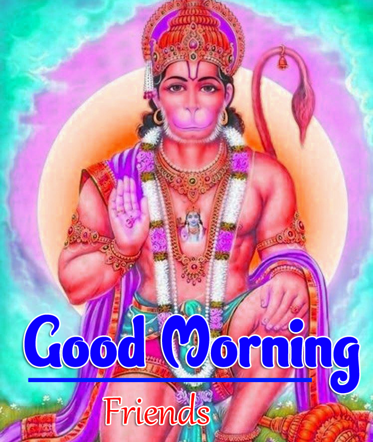 Jai Hanuman Ji Good Morning Images 3