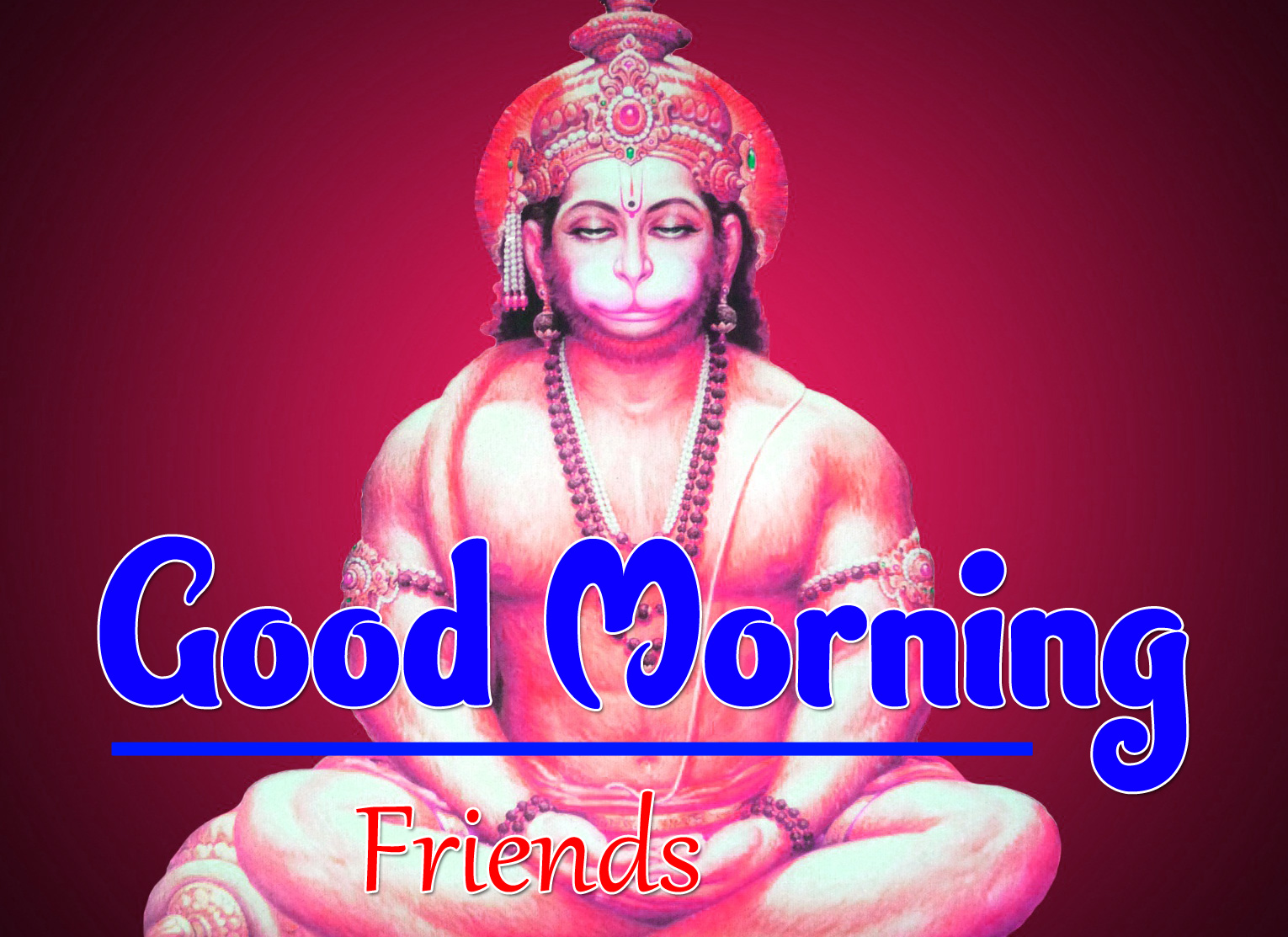 Jai Hanuman Ji Good Morning Images 4