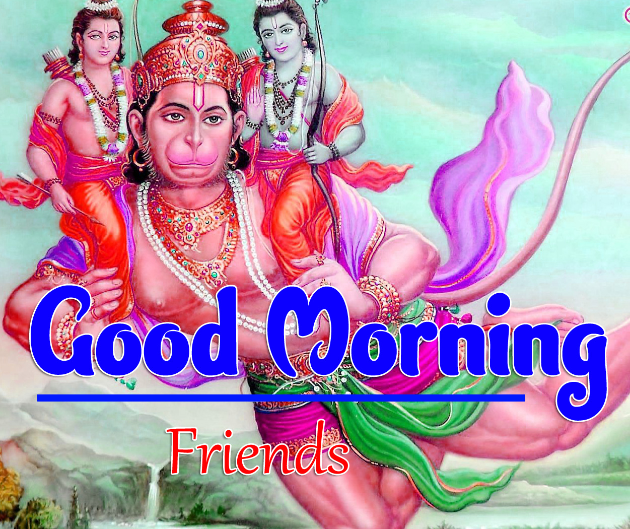 Jai Hanuman Ji Good Morning Images 5