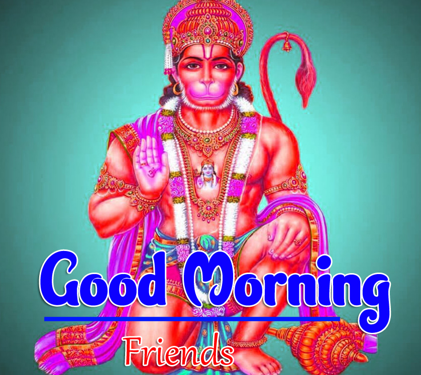 Jai Hanuman Ji Good Morning Images 6
