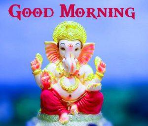 Lord Ganesha Good Mornign Wishes Pics Download