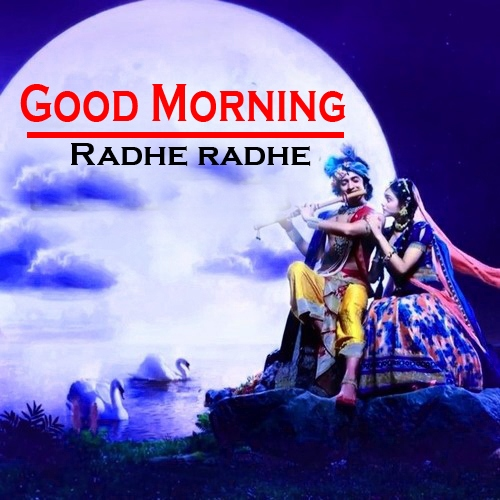 Radha Krishna Good Morning Images 3