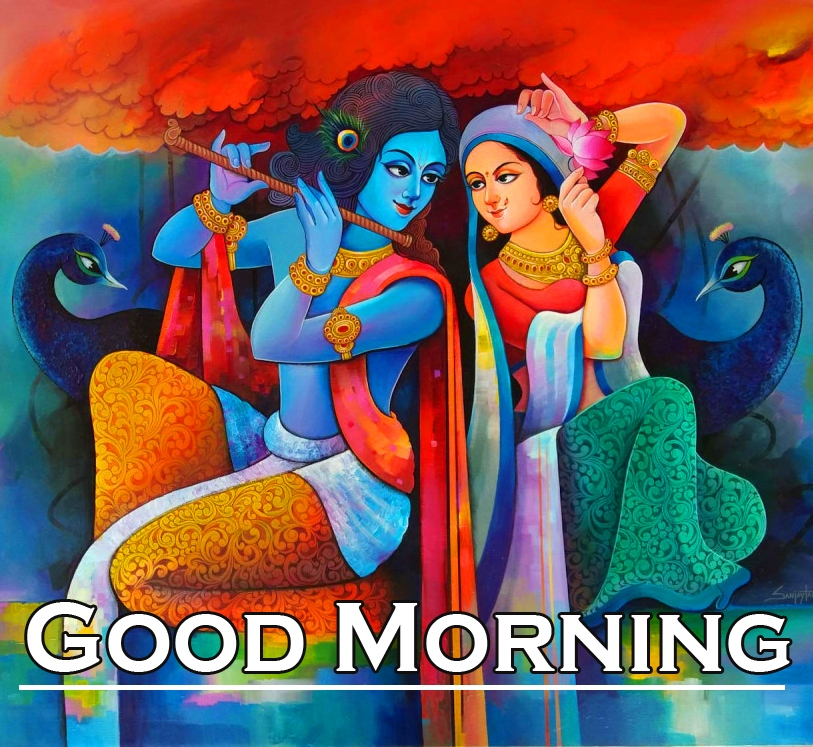 Radha Krishna Good Morning Images 6