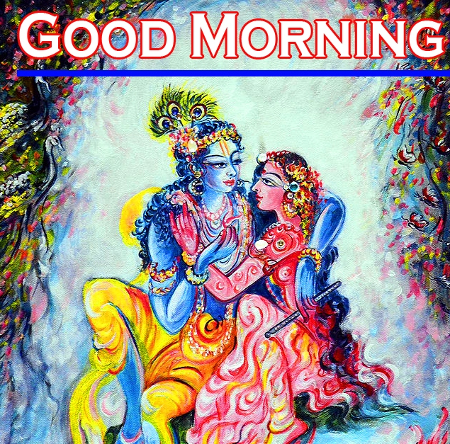 Radha Krishna Good Morning Images 9