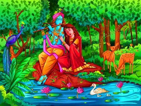 Hindu Radha Krishna Images Wallpaper Free Download