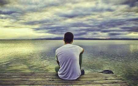 Sad Alone Whatsapp DP Wallpaper Free Download