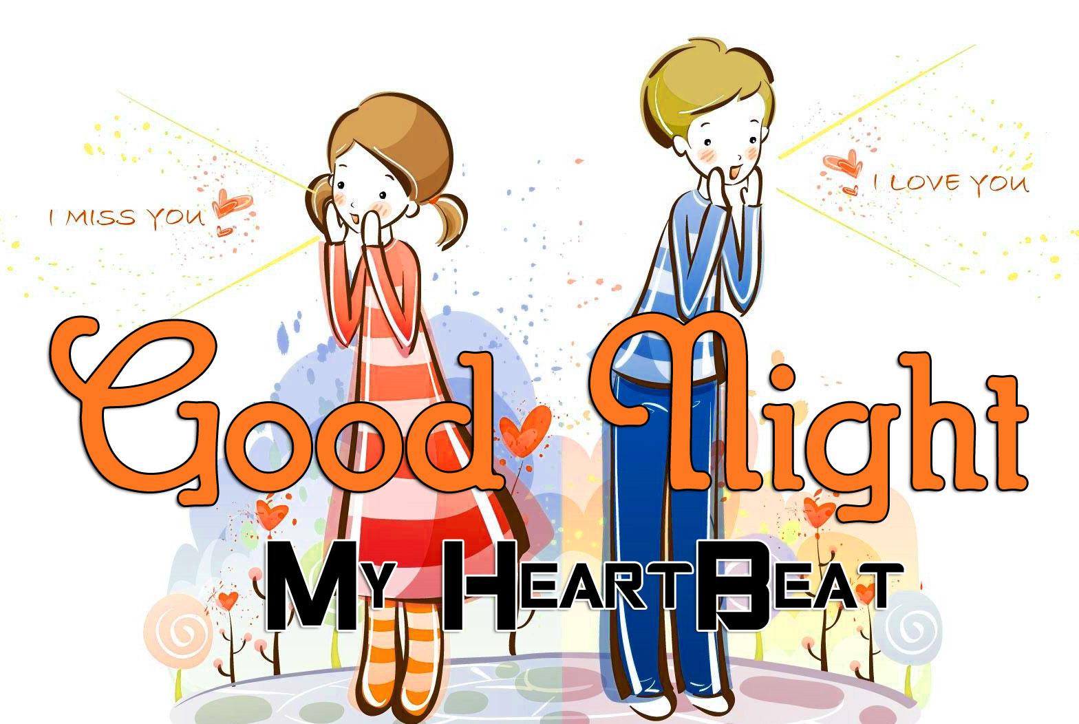 Cartoon Good Night Wallpaper In HD