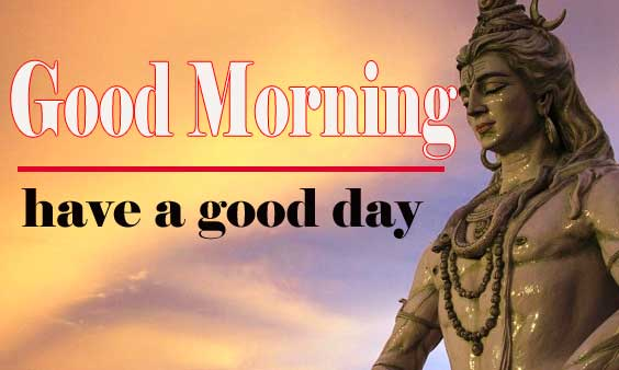 Good Morning Images With Lord Shiva