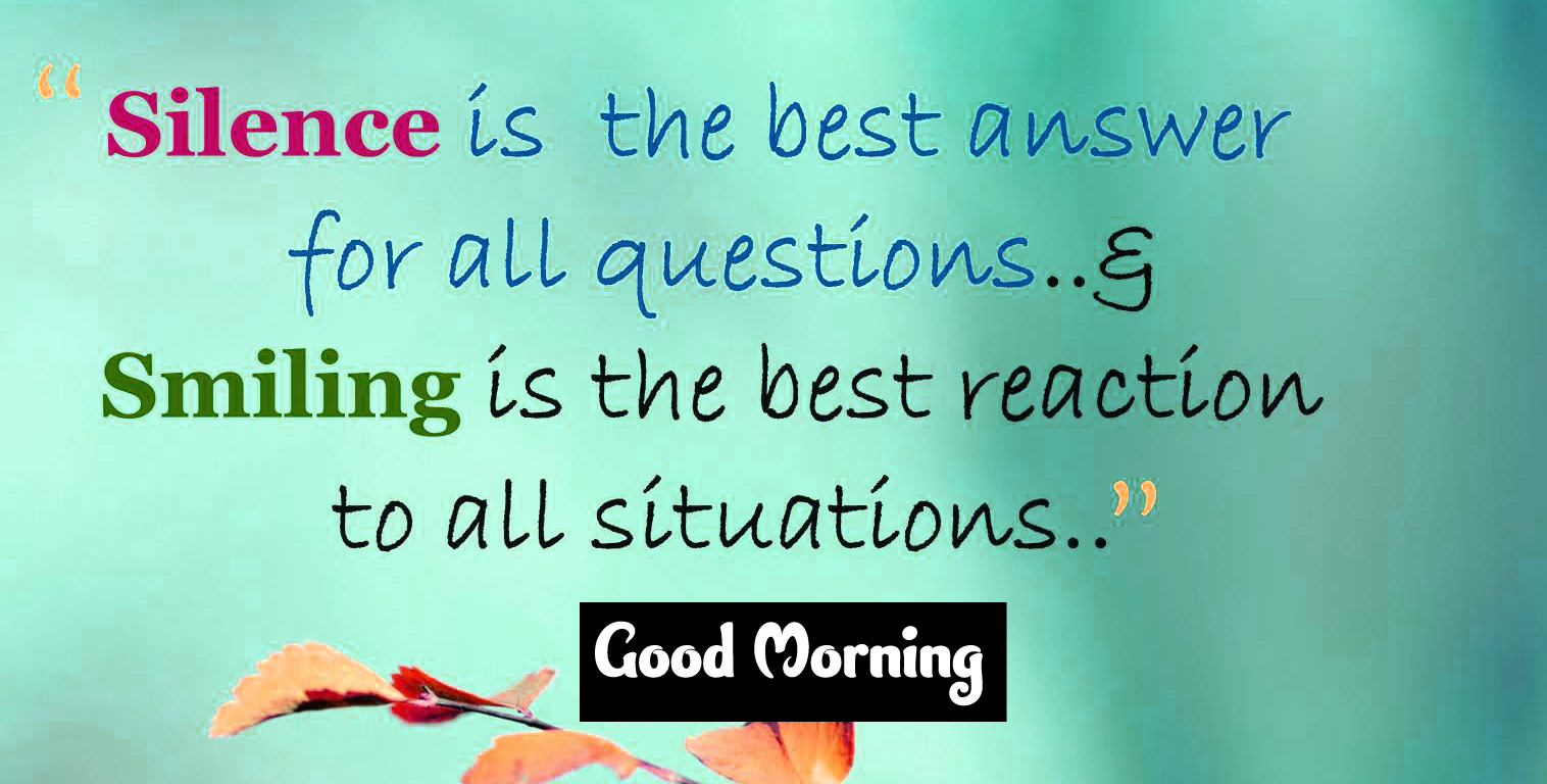 Good Morning Images With English Quotes 1