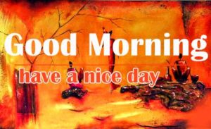 Good Morning Wallpaper Art Photo for Facebook