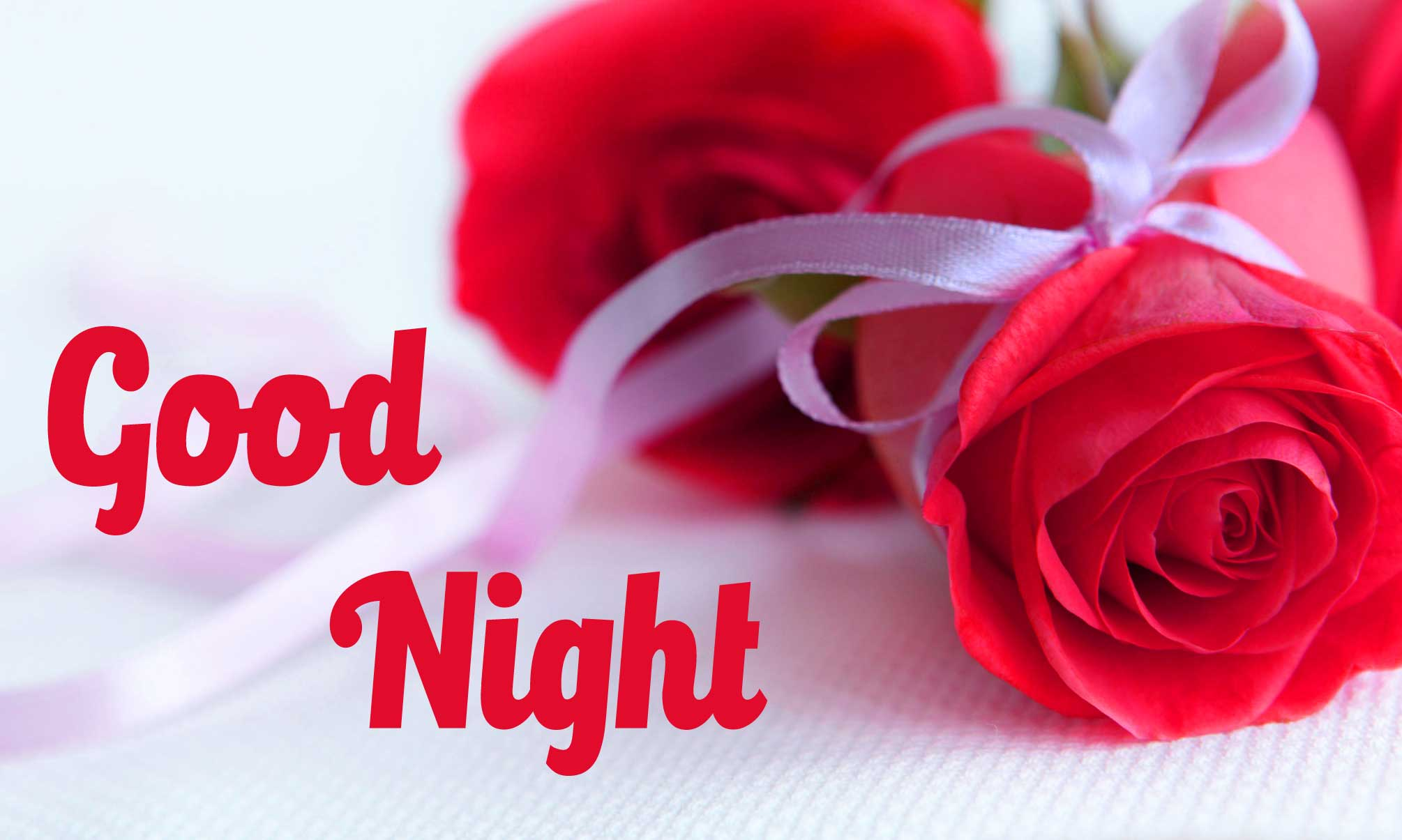 Beautiful Good Night Images With Rose