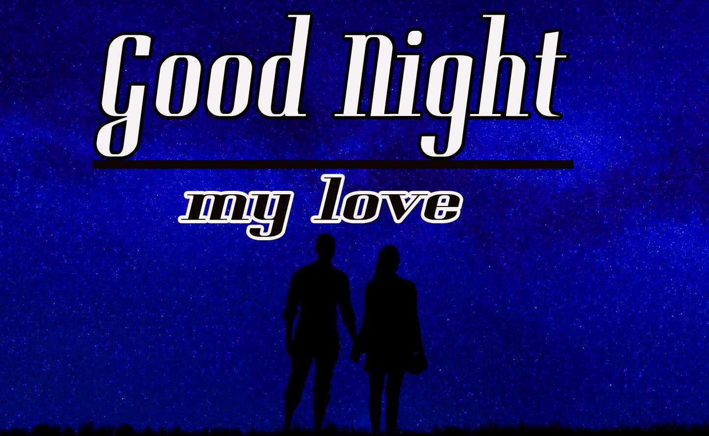 For Mobile Good Night Wallpaper for Love Couple