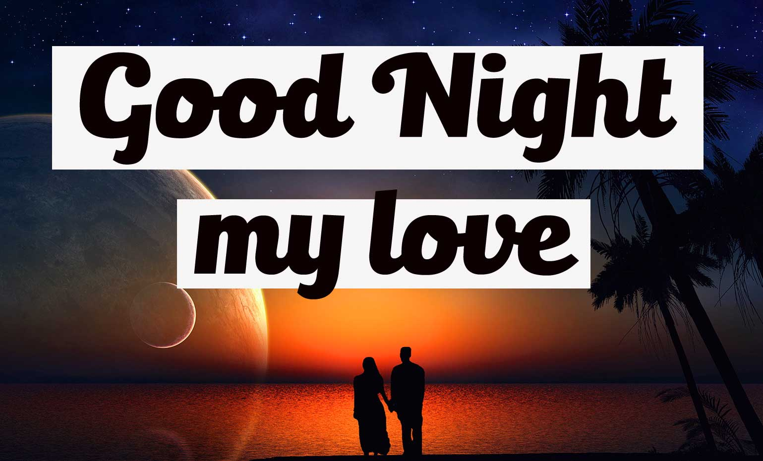 Most Beautiful Good Night Photo