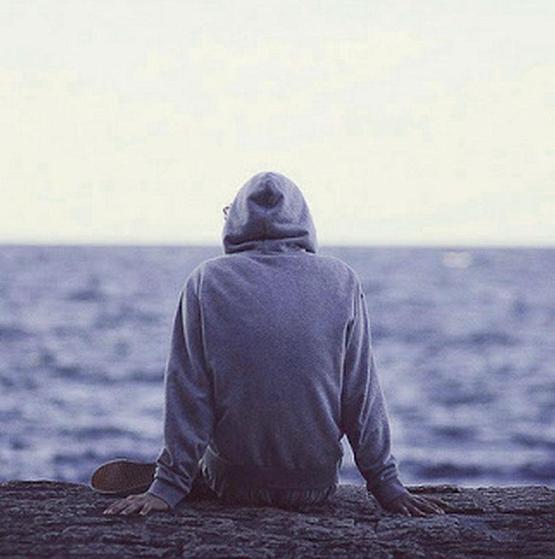 Sad Alone Boy Whatsapp DP Pics Free New