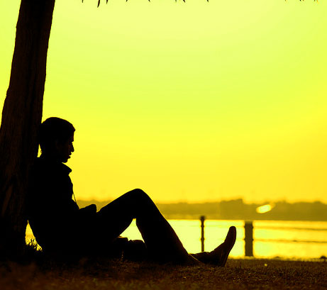 Sad Alone Boy Whatsapp DP Pics for Facebook