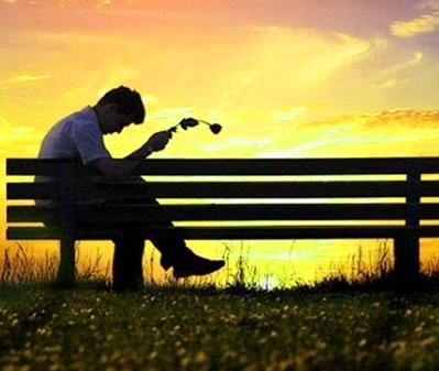 Sad Alone Boy Whatsapp DP Pic With Breakup Boy