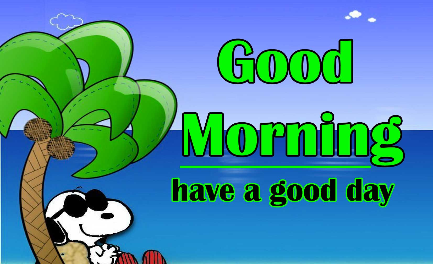 Snoopy good Morning 10