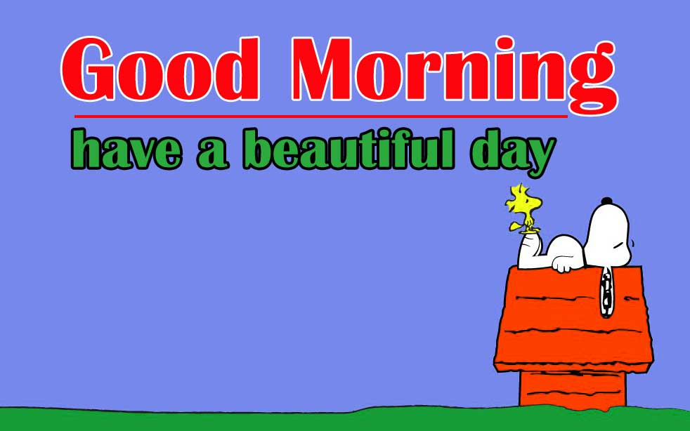 Snoopy good Morning 13