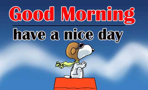 Snoopy good Morning 16
