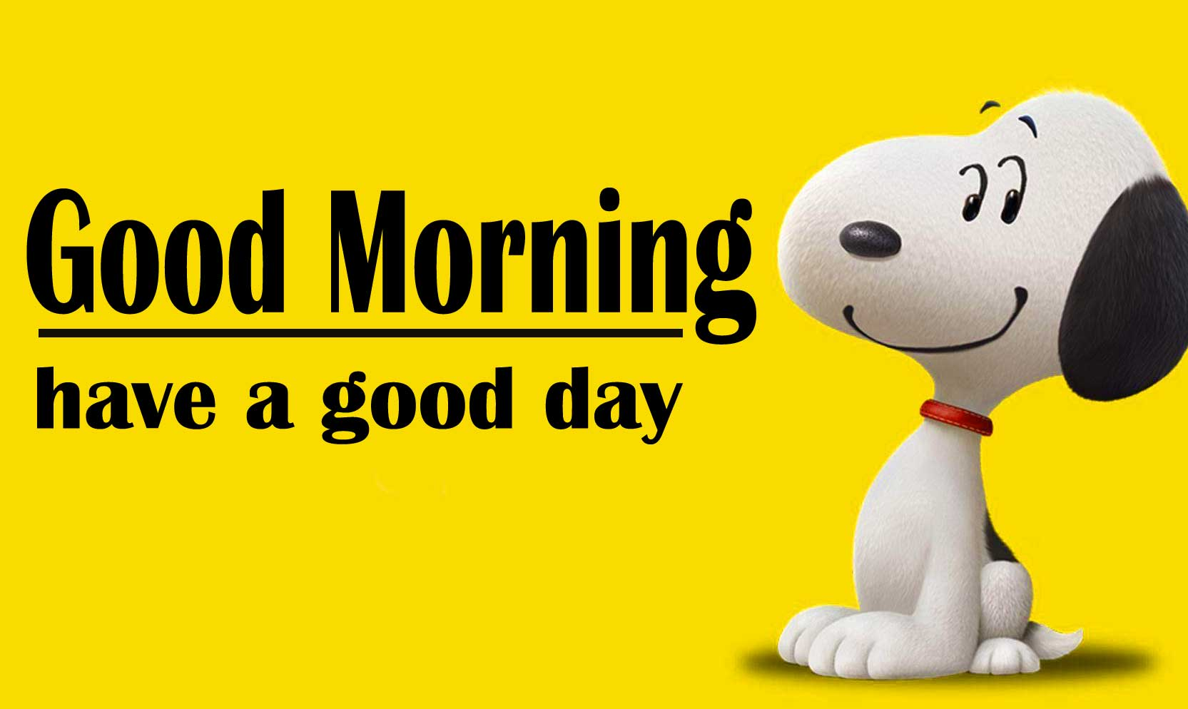 Snoopy good Morning 18
