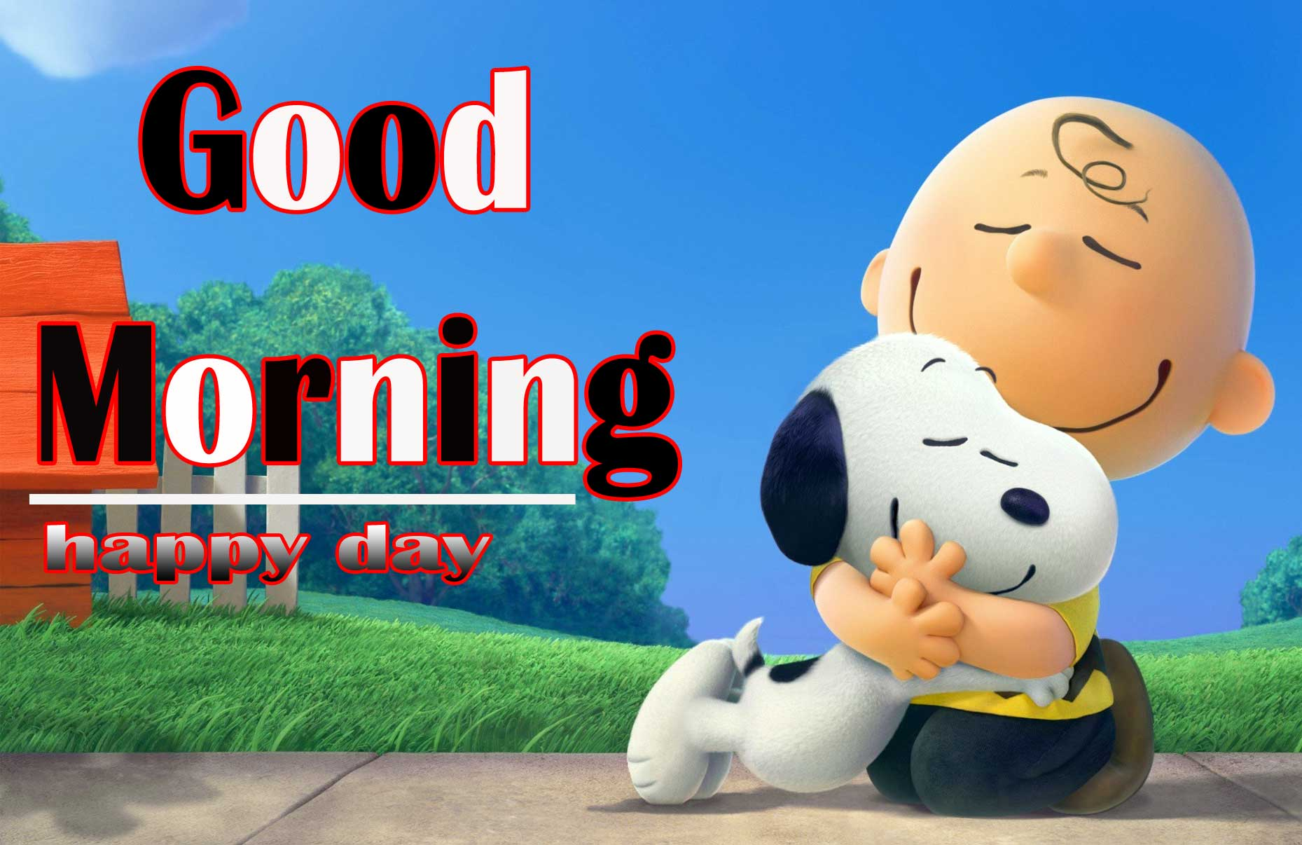 Snoopy good Morning 2