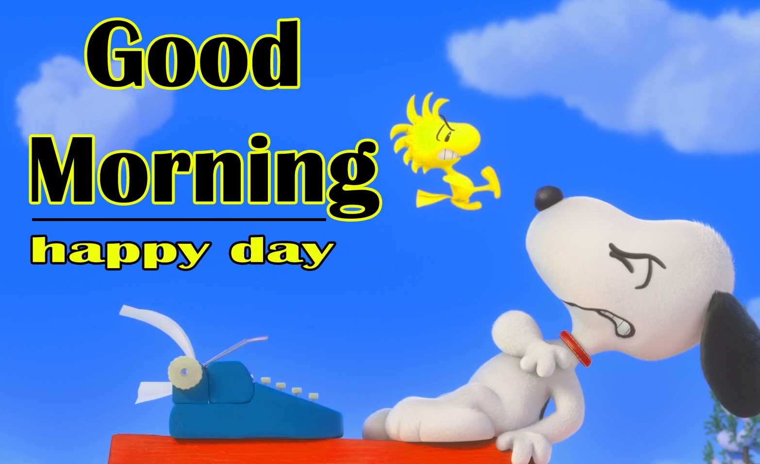 Snoopy good Morning 20
