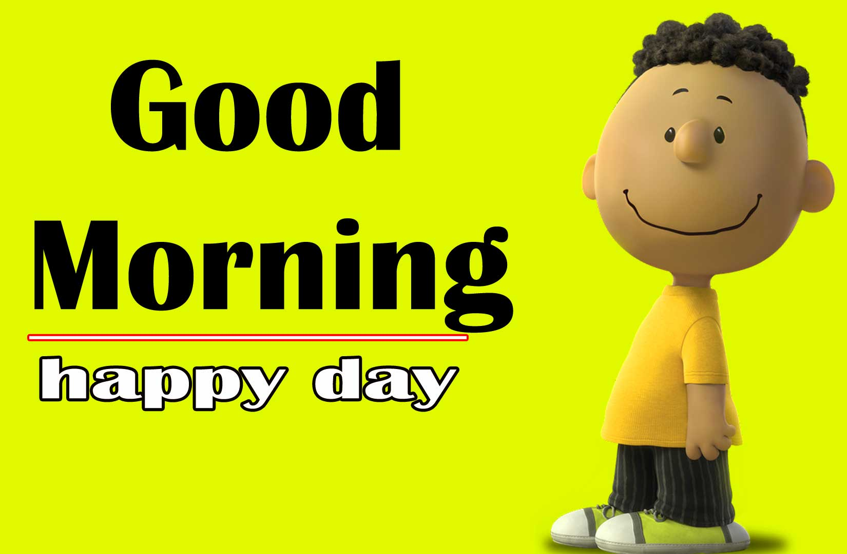 Snoopy good Morning 3