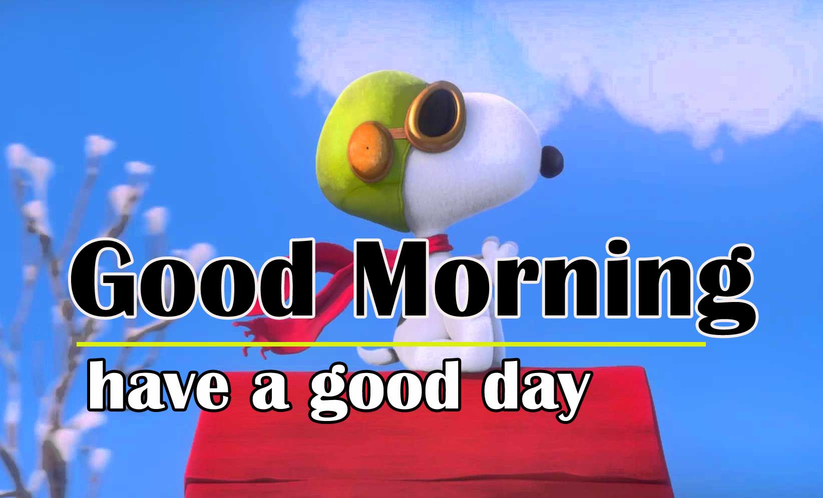 Snoopy good Morning 4
