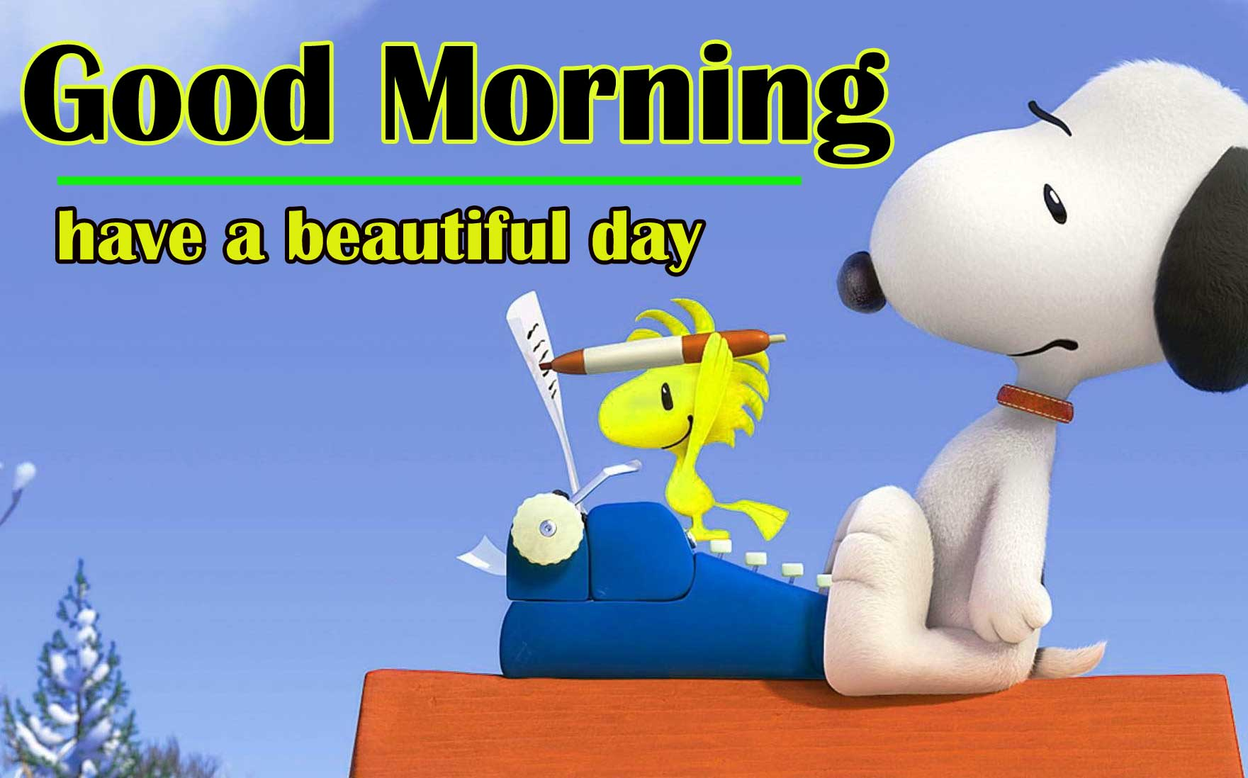 Snoopy good Morning 5