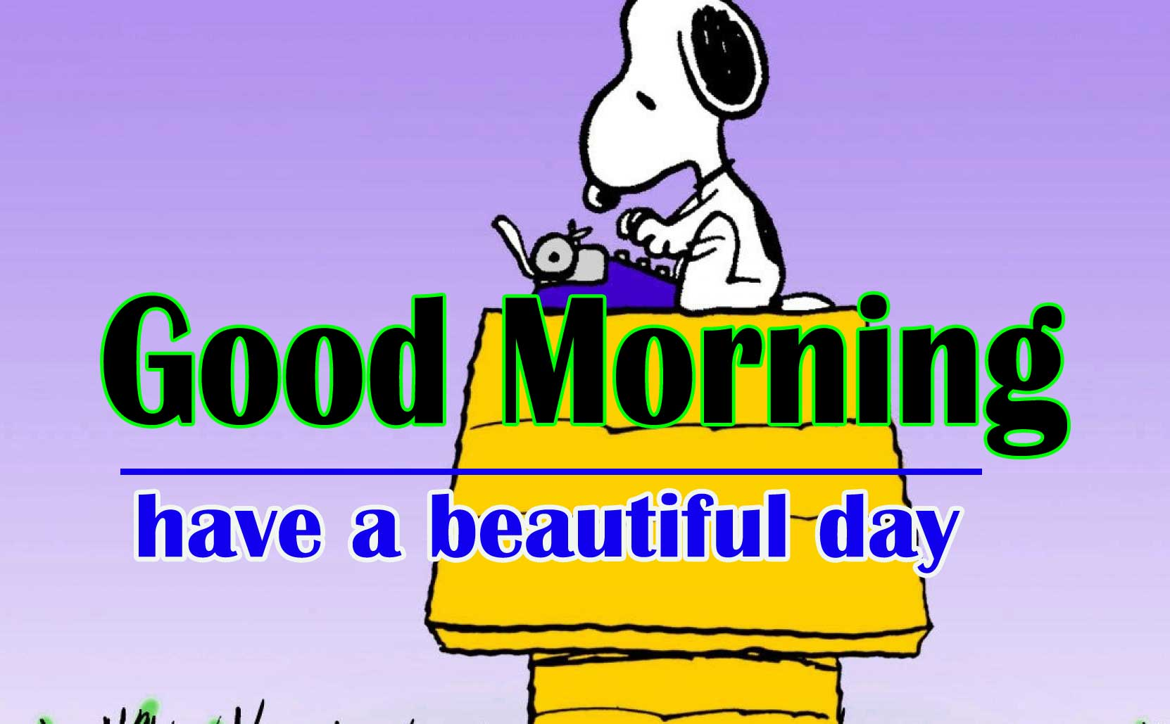 Snoopy good Morning 8