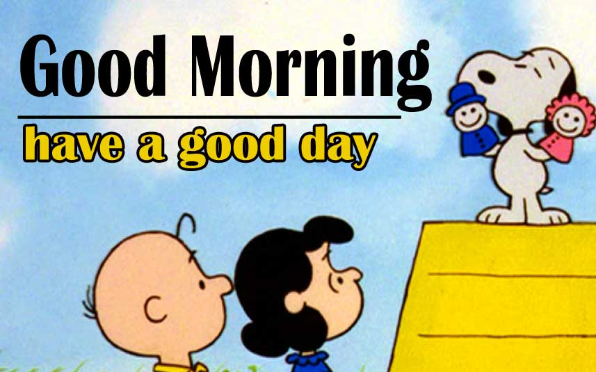 Snoopy good Morning 9