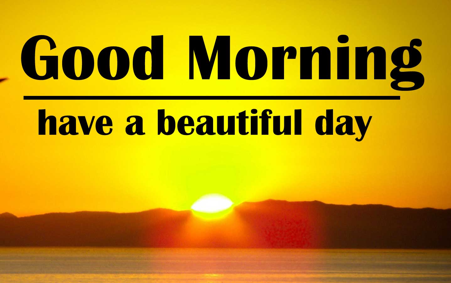 Beautiful Sunshine Good Morning Wishes Images Pics Download