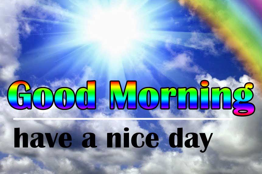 Free Sunshine Good Morning Wishes Images Wallpaper for Whatsapp