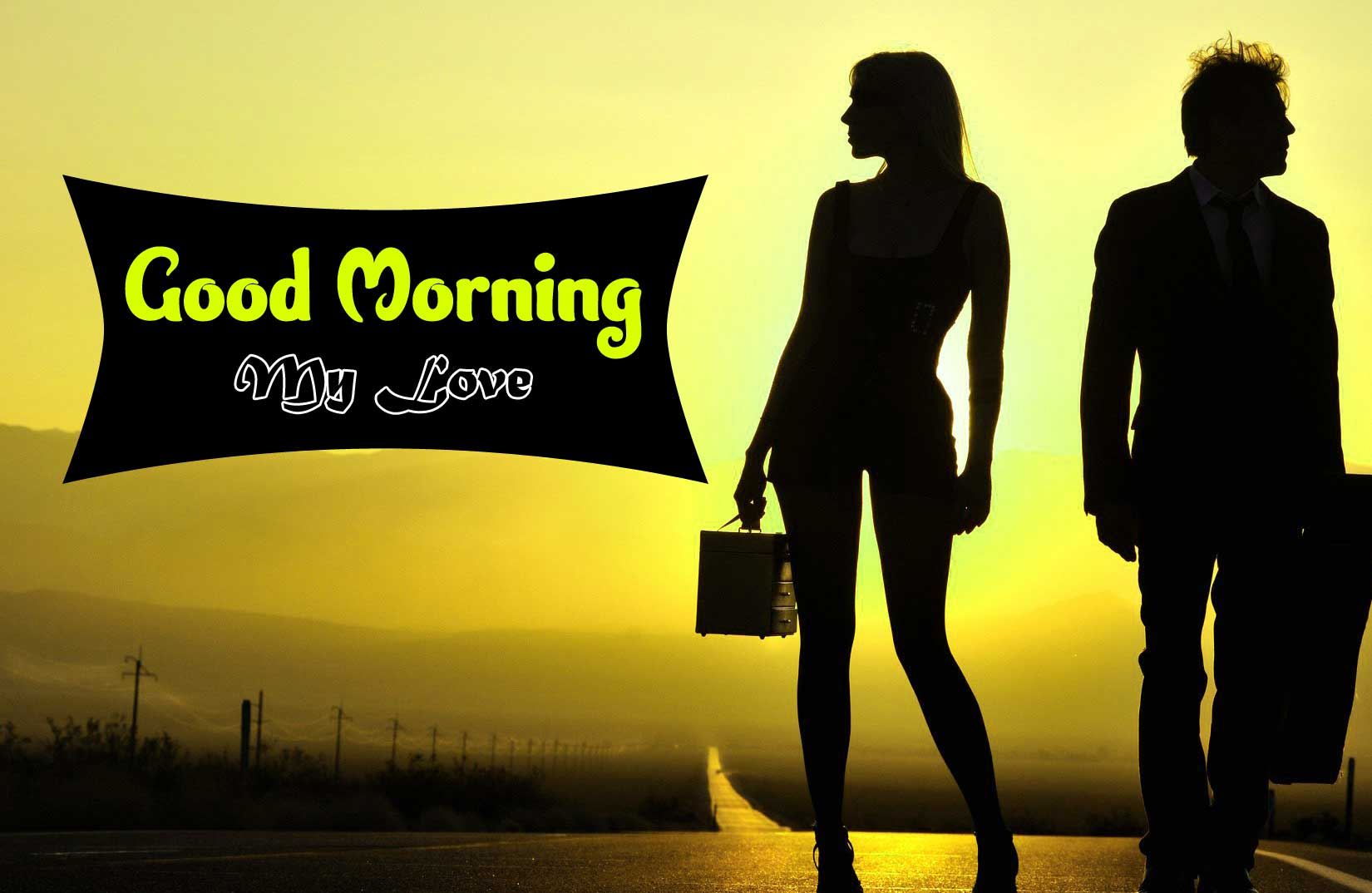 Sweet Romantic Good Morning Photo Download