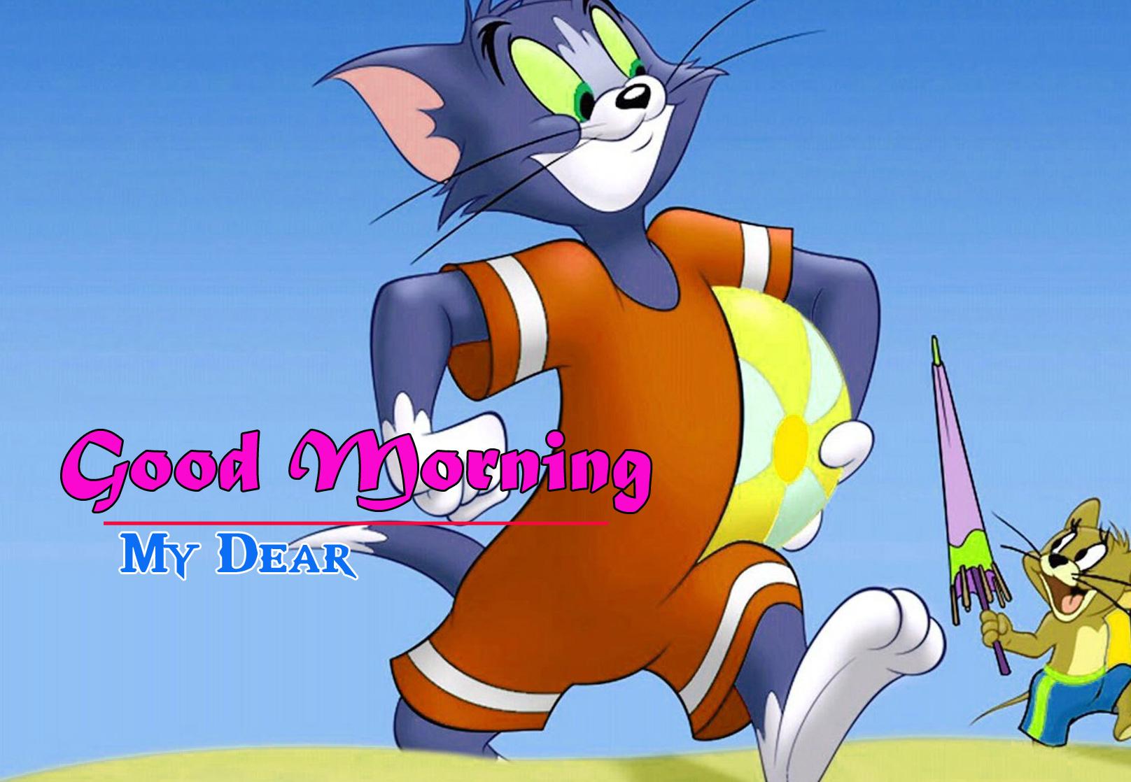 Cartoon Good Morning Images Pics for Whatsapp