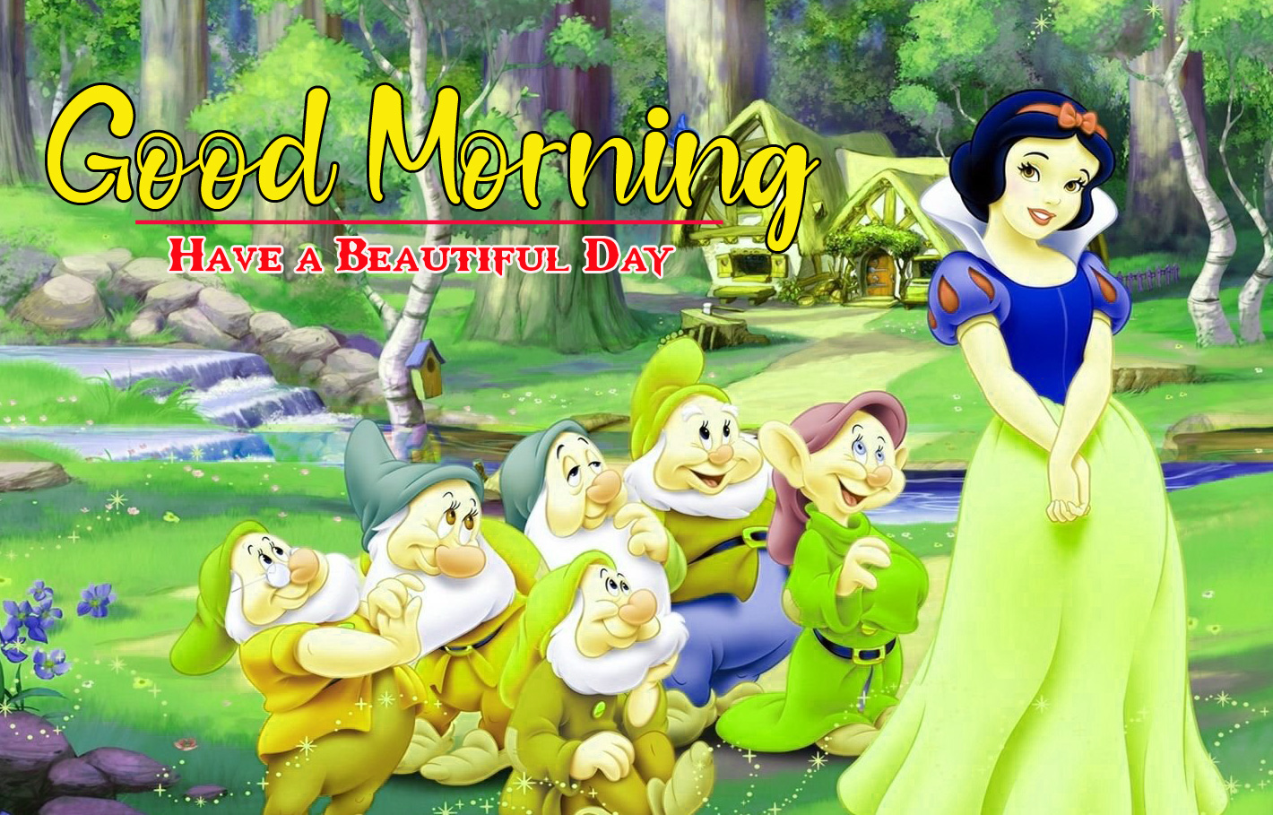 Cartoon Good Morning Images Pics Free Download for Whatsapp