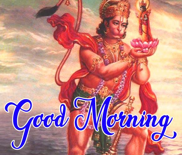 Lord Hanuman Ji good morning Images